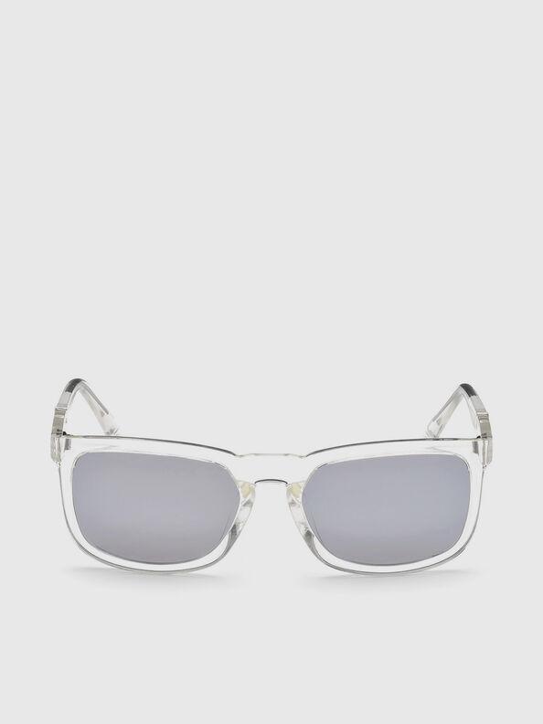 DL0262, Blanc - Lunettes de soleil