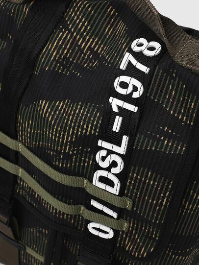 Diesel - VOLPAGO BACK, Vert/Noir - Sacs à dos - Image 6