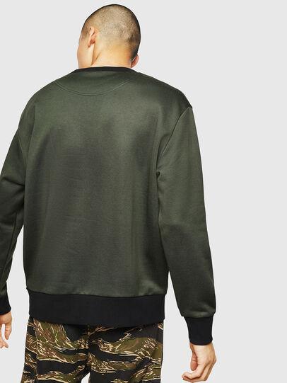 Diesel - S-BAY-MESH, Vert Foncé - Pull Cotton - Image 2