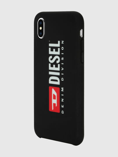Diesel - DIESEL PRINTED CO-MOLD CASE FOR IPHONE XS MAX, Noir/Blanc - Coques - Image 5