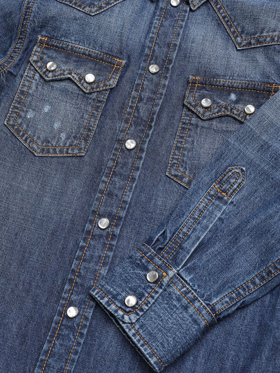 Diesel - CLEO, Bleu moyen - Chemises - Image 3