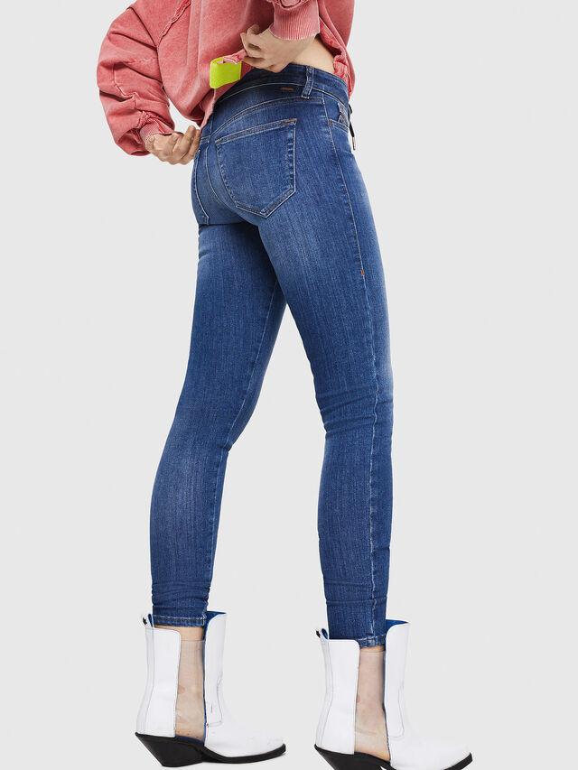 Diesel - Slandy 088AU, Bleu moyen - Jeans - Image 2