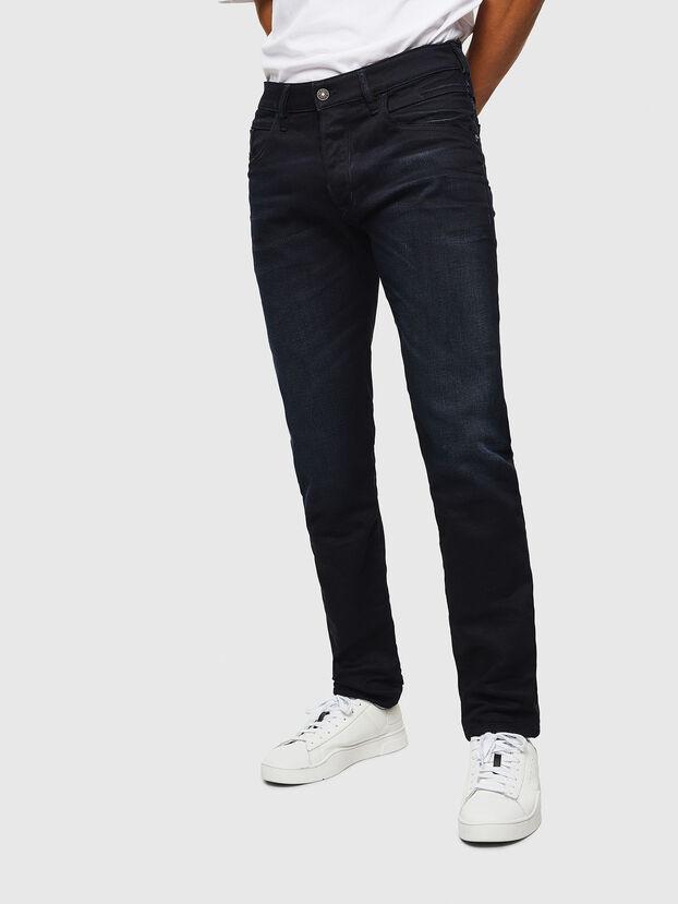 D-Bazer 084AY, Bleu Foncé - Jeans