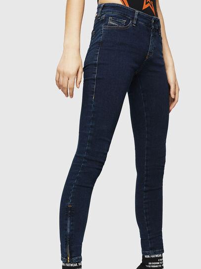 Diesel - Slandy Zip 083AM, Bleu Foncé - Jeans - Image 4