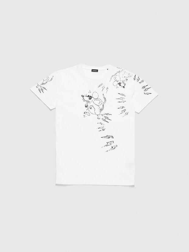 CL-T-DIEGO-3, Blanc - T-Shirts