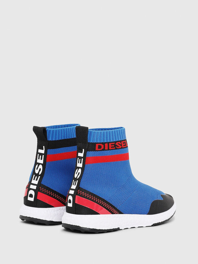 Diesel - SLIP ON 03 S-K SOCK, Bleu - Footwear - Image 3