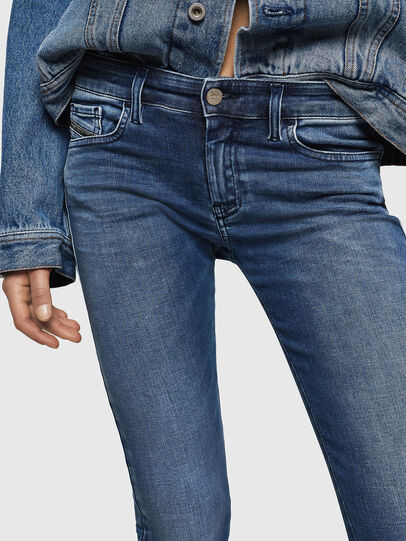 Diesel - Slandy Low 084NM, Bleu moyen - Jeans - Image 3