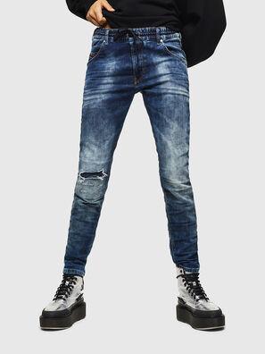 Krailey JoggJeans 069AA, Bleu Foncé - Jeans