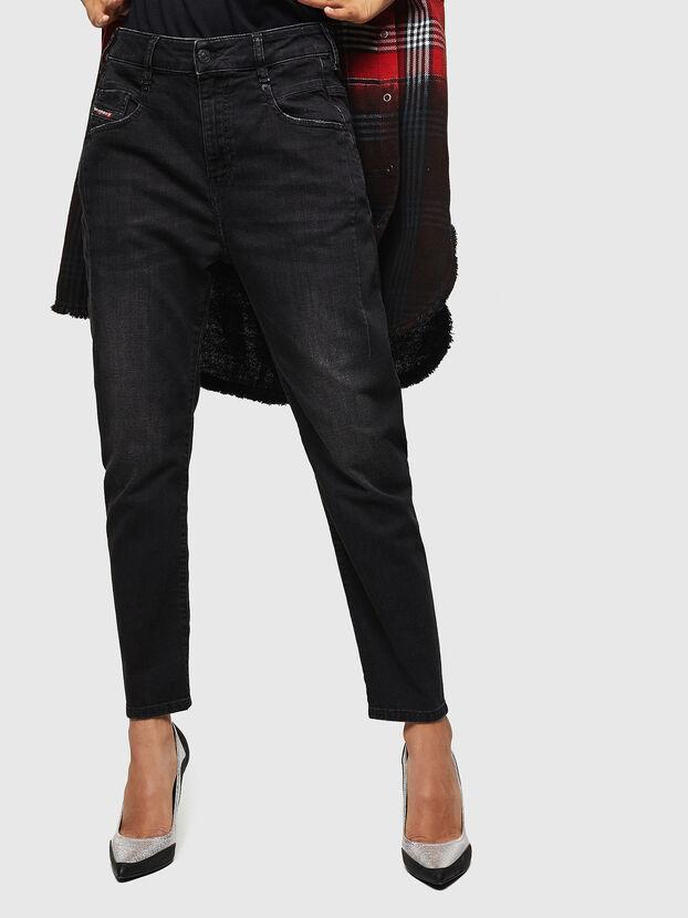 Fayza 069BG, Noir/Gris foncé - Jeans