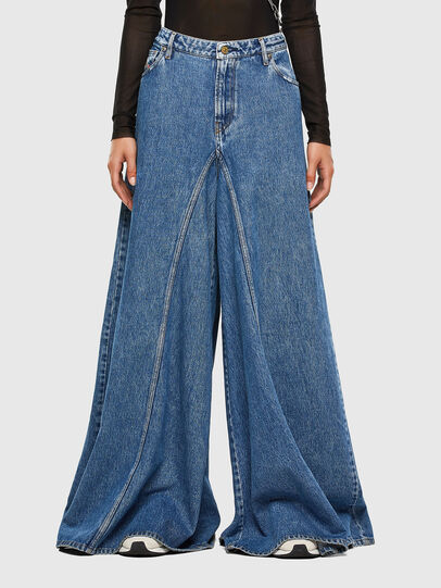 Diesel - D-Spritzz 009IJ, Bleu moyen - Jeans - Image 1