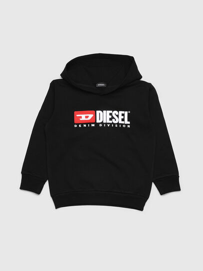 Diesel - SDIVISION OVER, Noir - Pull Cotton - Image 1