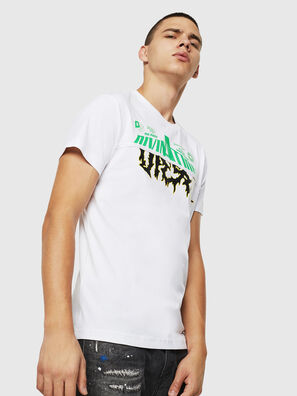 T-DIEGO-B12, Blanc - T-Shirts