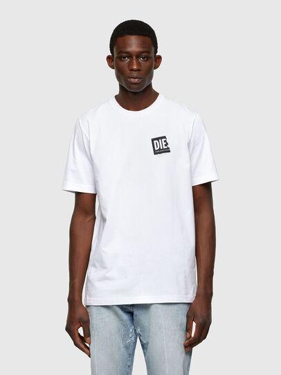 Diesel - T-JUST-LAB, Blanc - T-Shirts - Image 1