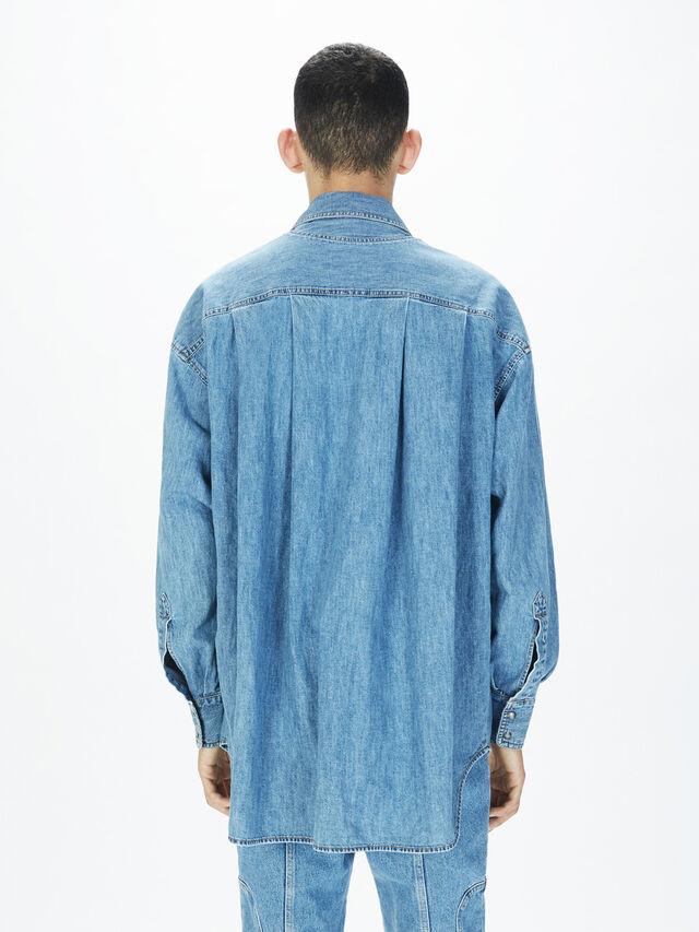Diesel - SOTS01, Bleu Clair - Chemises - Image 4