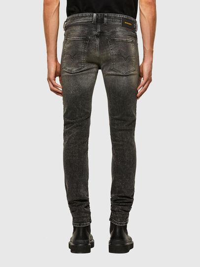 Diesel - Sleenker 009IS, Noir/Gris foncé - Jeans - Image 2