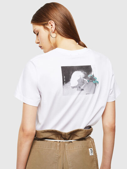 Diesel - T-DIEGO-J20, Blanc - T-Shirts - Image 4