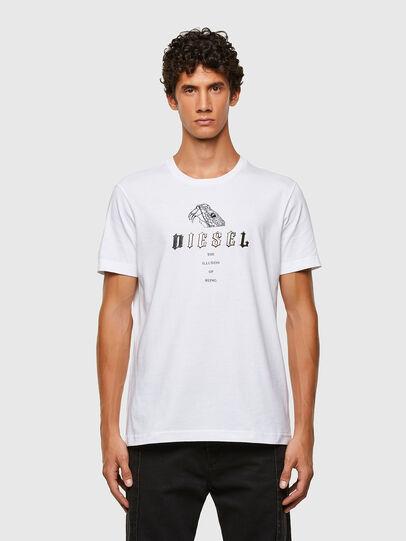 Diesel - T-DIEGOS-N30, Blanc - T-Shirts - Image 1