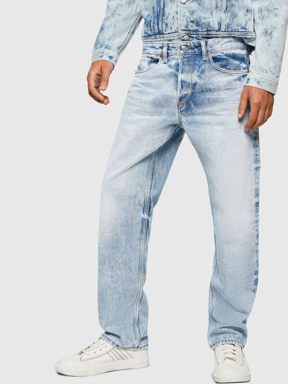 Diesel - D-Kodeck 0078C, Bleu Clair - Jeans - Image 1