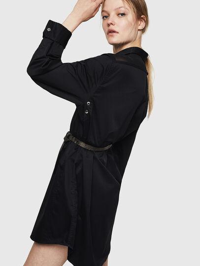 Diesel - D-FLOWY, Noir - Robes - Image 5