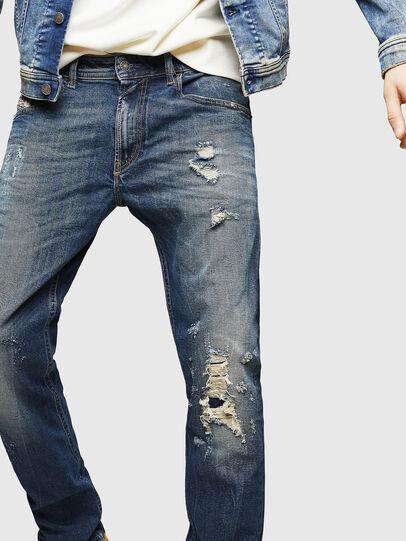 Diesel - Thommer 083AC, Bleu Foncé - Jeans - Image 3