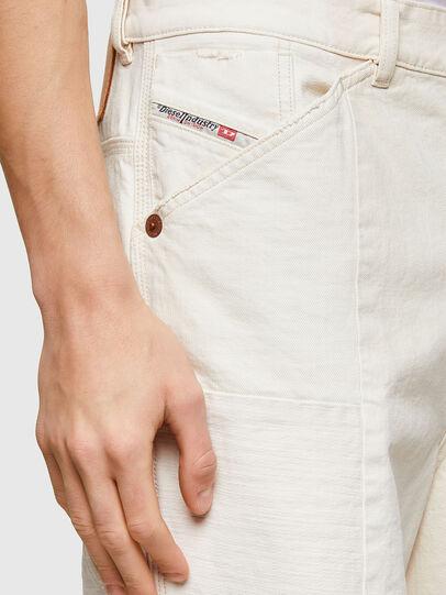 Diesel - D-FRANS-SP1, Blanc - Shorts - Image 3