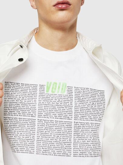 Diesel - T-JUST-LS-NEW, Blanc - T-Shirts - Image 3