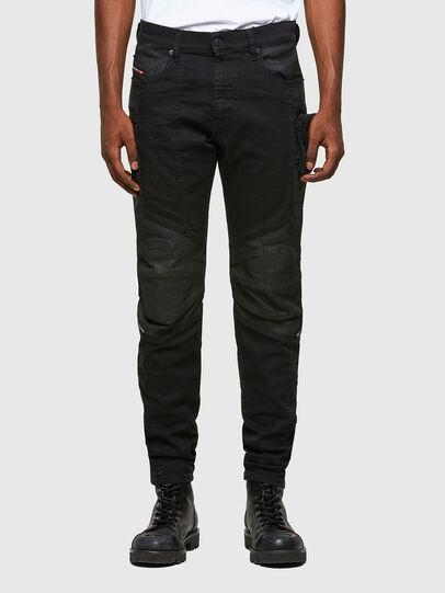 Diesel - D-Strukt 069TH, Noir/Gris foncé - Jeans - Image 1
