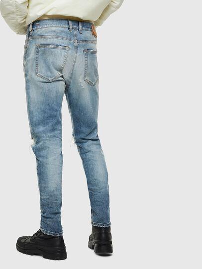 Diesel - D-Vider 0097J, Bleu Clair - Jeans - Image 2