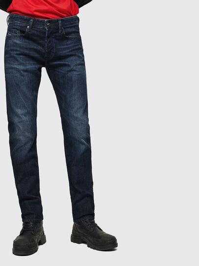 Diesel - Buster 0095W, Bleu Foncé - Jeans - Image 1