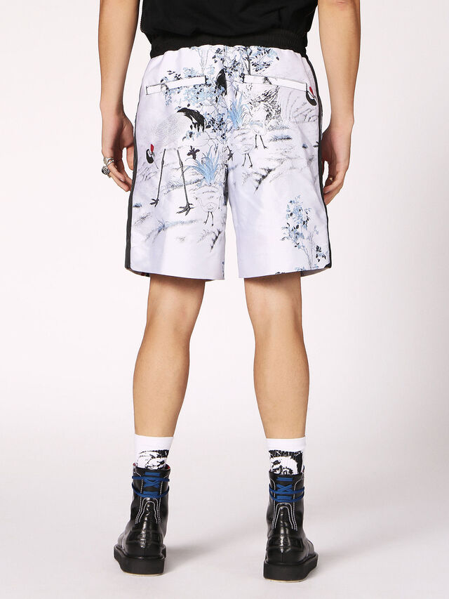 Diesel - P-GROUND, Blanc - Shorts - Image 2