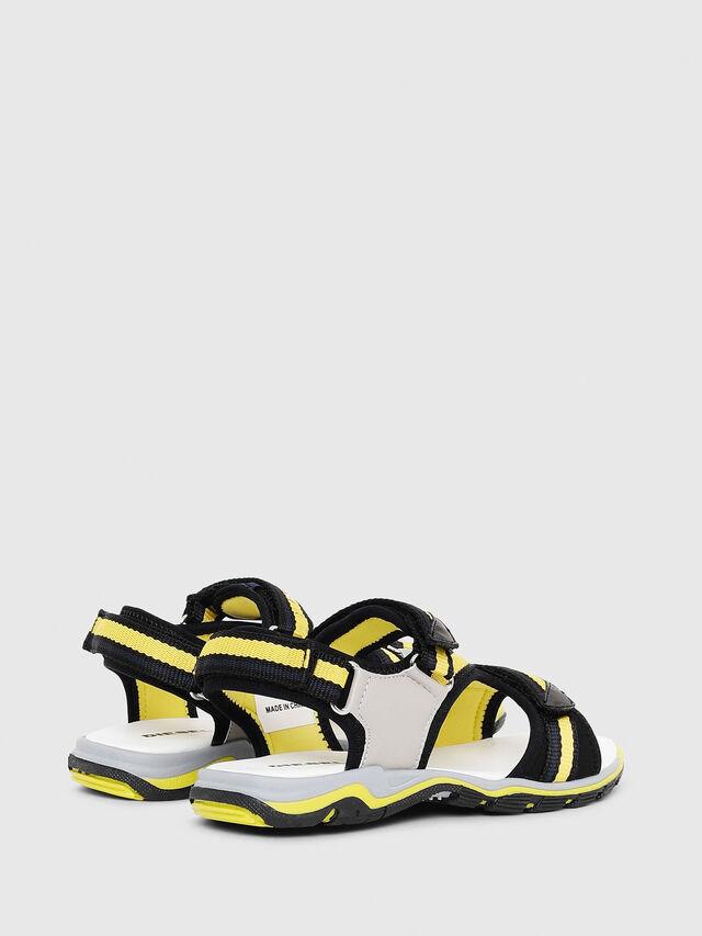 Diesel - SA 07 STRIPE CH, Gris/Noir - Footwear - Image 3