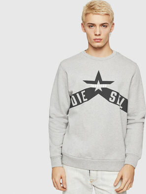 S-GIR-A2, Gris - Pull Cotton