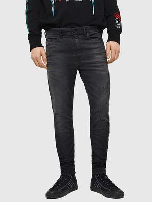 Spender JoggJeans 069GN, Noir/Gris foncé - Jeans