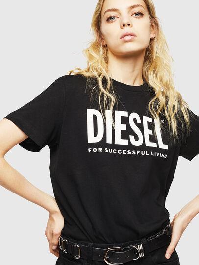 Diesel - T-DIEGO-LOGO, Noir - T-Shirts - Image 6