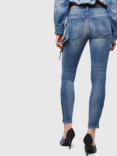 Diesel - Slandy Zip 083AP, Bleu moyen - Jeans - Image 2
