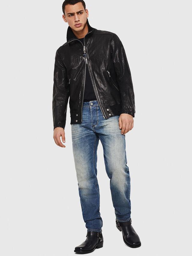 Diesel - Larkee-Beex 089AR, Bleu Foncé - Jeans - Image 6