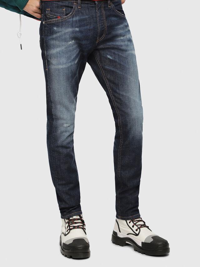 Diesel - Thommer 087AN, Bleu Foncé - Jeans - Image 1