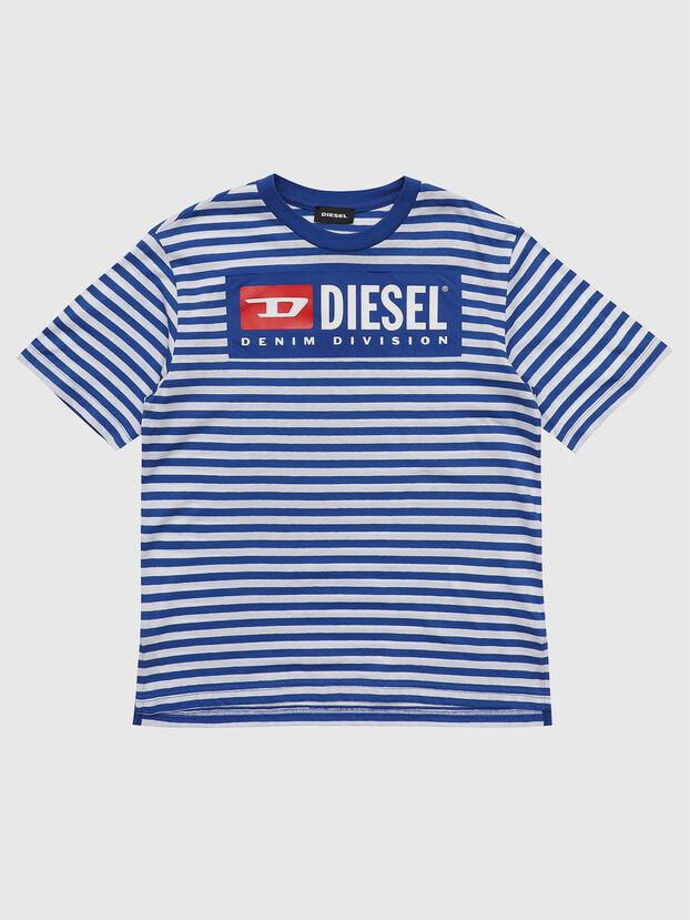 TVIKTOR OVER, Bleu/Blanc - T-shirts et Hauts