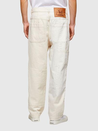 Diesel - D-FRAN-SP1, Blanc - Pantalons - Image 2