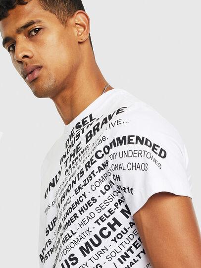 Diesel - T-DIEGO-S3, Blanc - T-Shirts - Image 3