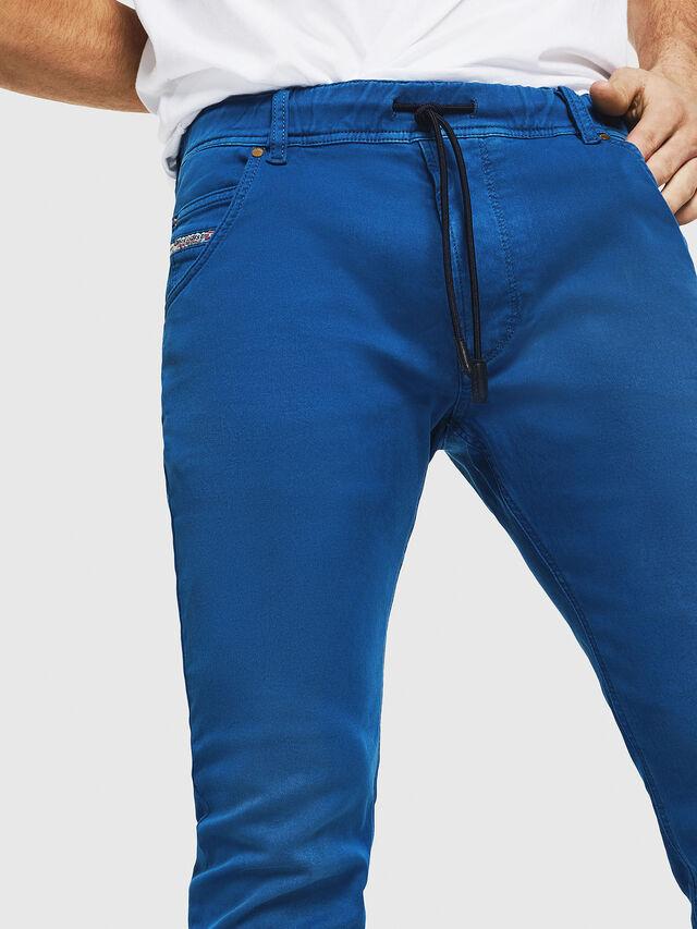 Diesel - Krooley JoggJeans 0670M, Bleu Brillant - Jeans - Image 3