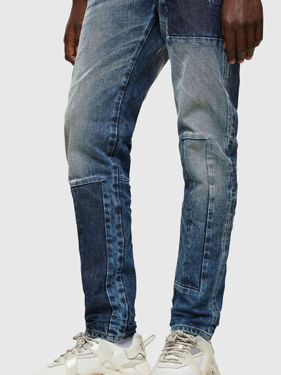Diesel - D-Strukt 009NI, Bleu moyen - Jeans - Image 4