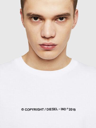 Diesel - T-JUST-LS-COPY, Blanc - T-Shirts - Image 3