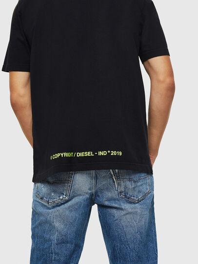 Diesel - T-DIKEL, Noir - T-Shirts - Image 4