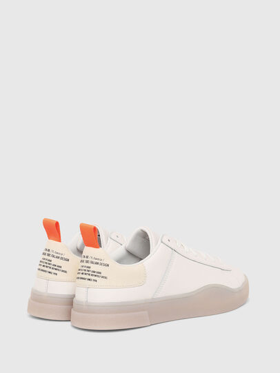 Diesel - S-CLEVER LOW LACE, Blanc - Baskets - Image 3