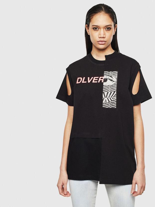 T-GOMEZ, Noir - T-Shirts