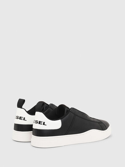 Diesel - S-CLEVER SO, Noir/Blanc - Baskets - Image 3