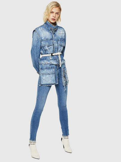 Diesel - D-Roisin 0890H, Bleu Clair - Jeans - Image 6