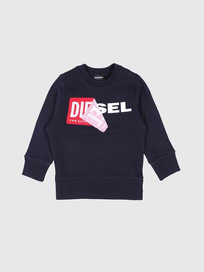 Diesel - SALLIB-R, Bleu Marine - Pull Cotton - Image 1