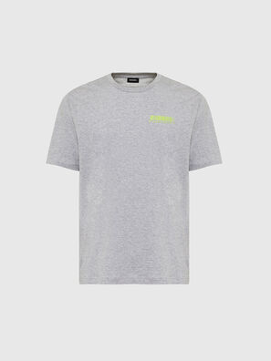 T-JUST-SLITS-X84, Gris - T-Shirts